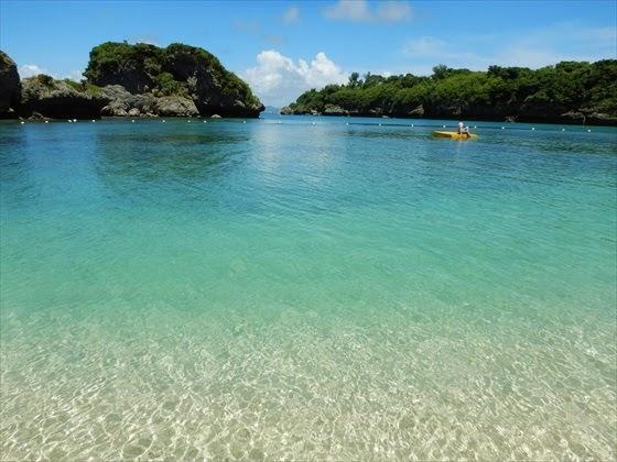 伊計島ビーチ綺麗な海