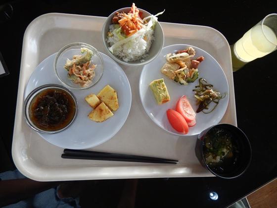 伊計島食事もずく・シナモンパイナップル