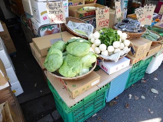 かごにのせられた野菜