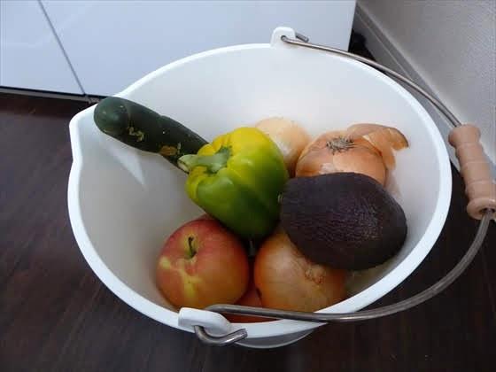 我が家の野菜収納