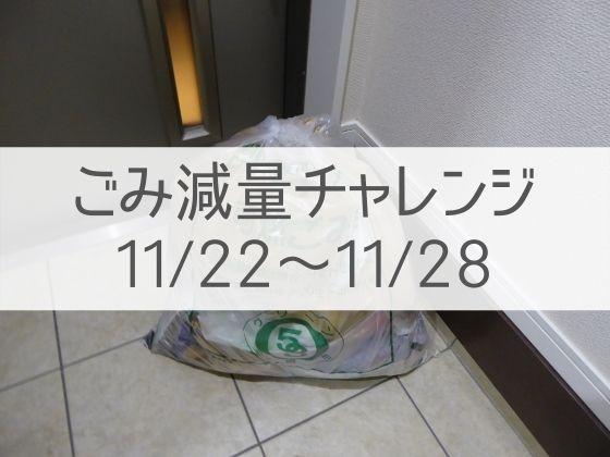 病気とプラスチックごみ【ごみ減量チャレンジ11/22~11/28】