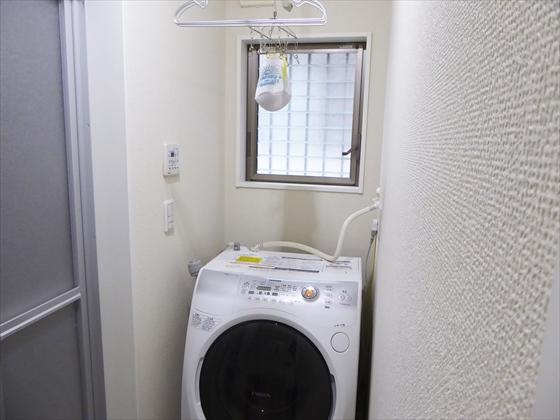 最近の洗濯機周辺