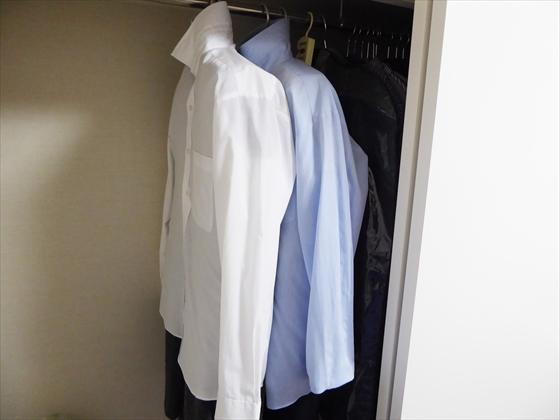 代替品にされたYシャツの全体