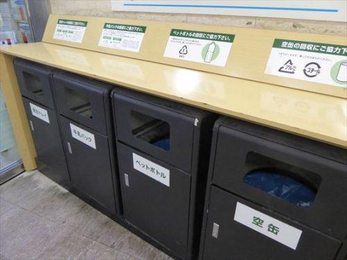 船橋東武のリサイクル回収ボックス