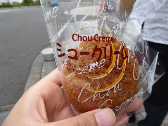 菓子工房イチミネのシュークリーム
