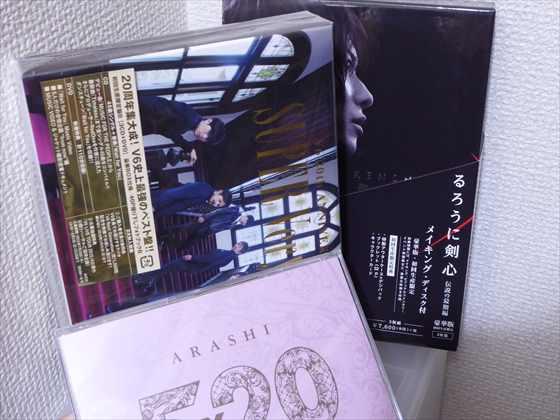 CDやDVD