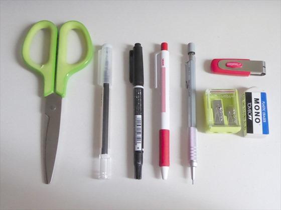 ペンなどの文房具