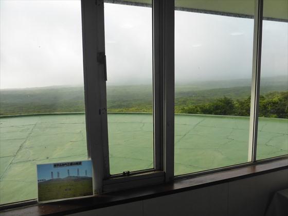 3日目の朝の食堂からの眺め