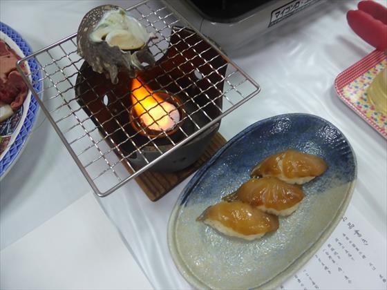 サザエとべっこう寿司