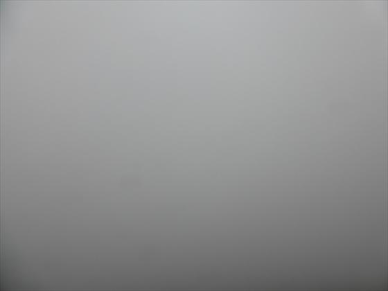 4日目の朝の景色