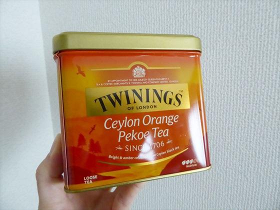 缶入りの紅茶