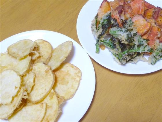 野菜の天ぷら各種