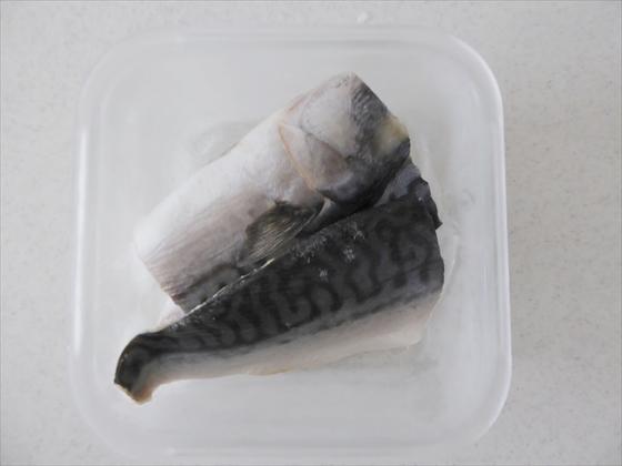IKEA 365+」シリーズの容器で冷凍された塩鯖