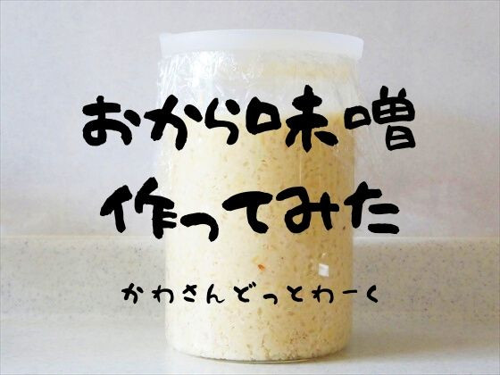 おから味噌作ってみたアイキャッチ