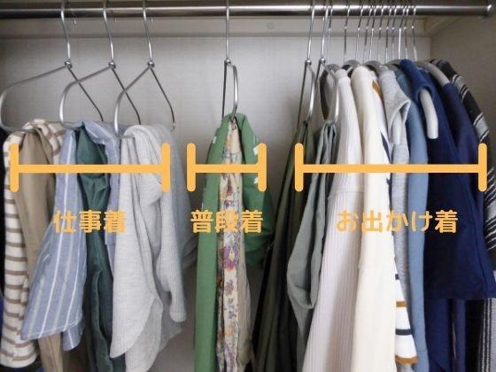 2020年の春夏の洋服のカテゴリー分け