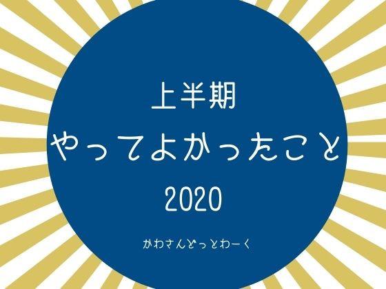 2020上半期やってよかったことアイキャッチ
