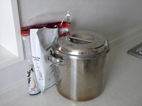 キッチンに保管している食品のパッケージ