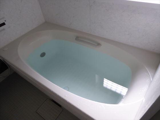 水をはったお風呂