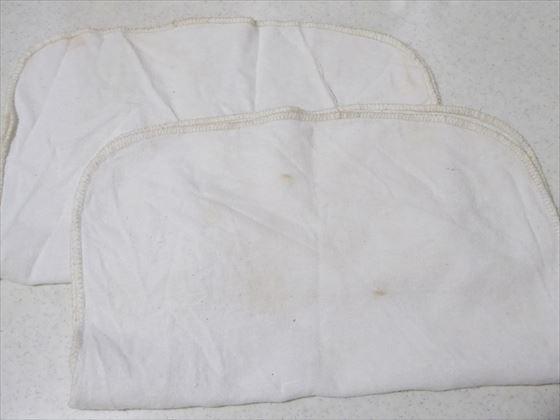 漂白前の布巾
