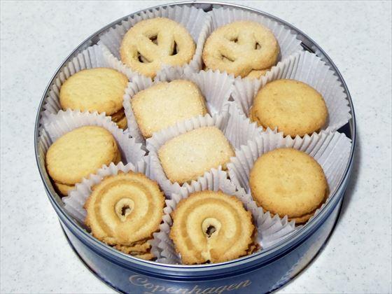 クッキー缶の中身