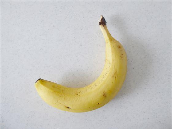 1本のバナナ