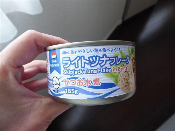 かつおの水煮缶