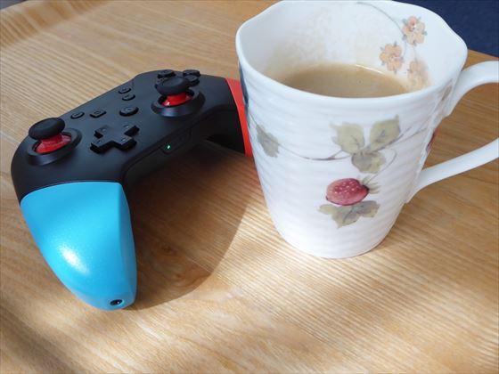 コーヒーとコントローラー