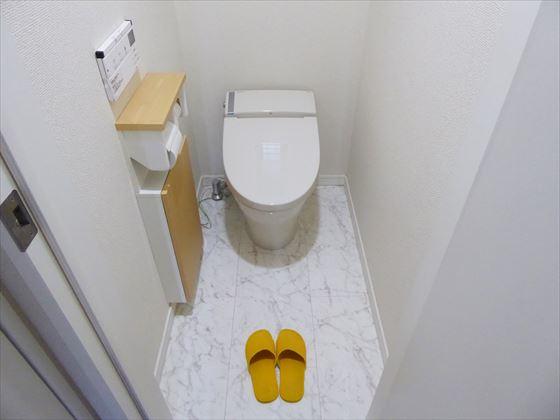 トイレ全体の様子
