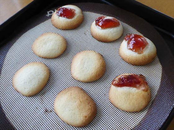焼き上がったクッキー